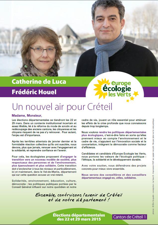 Image profession de foi EELV Créteil canton 1